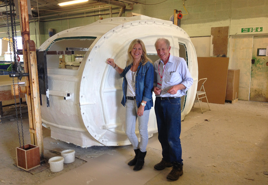 We are on George Clarke\'s Amazing Spaces! - Barefoot Caravans